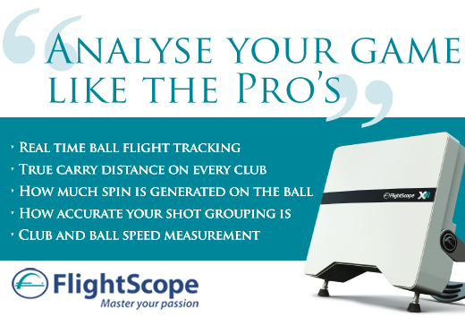 chris wood golf lessons uses flightscope technology