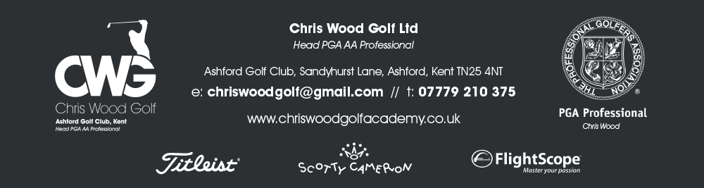 chris wood golf ashford kent footer image